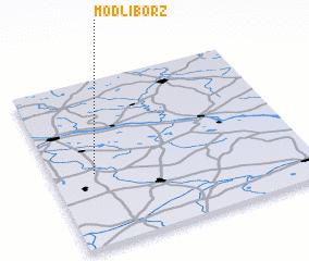 3d view of Modlibórz