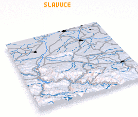 3d view of Slavuče