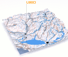 3d view of Lukići