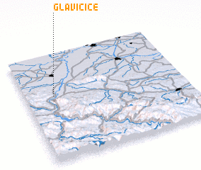 3d view of Glavičice