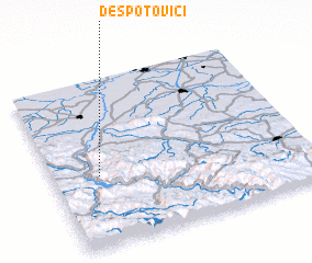 3d view of Despotovići
