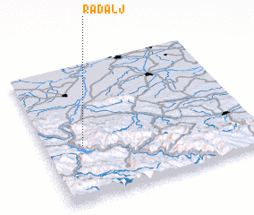 3d view of Radalj