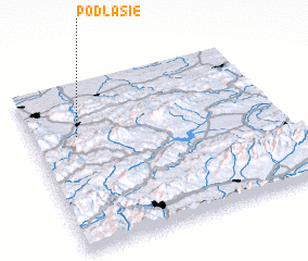 3d view of Podlasie