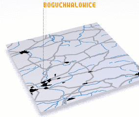 3d view of Boguchwałowice
