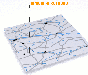 3d view of Kamienna Kretkowo