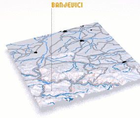 3d view of Banjevići