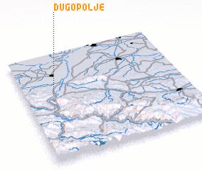 3d view of Dugo Polje
