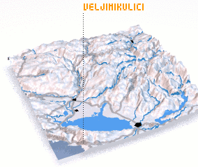 3d view of Velji Mikulići