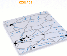 3d view of Czeladź
