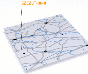 3d view of Szczutkowo