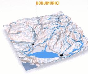 3d view of Donji Murići