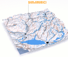 3d view of Donji Murići
