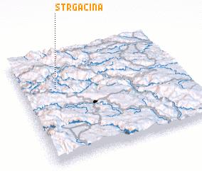 3d view of Strgačina