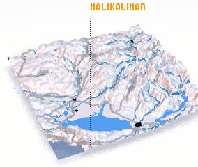 3d view of Mali Kaliman