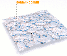 3d view of Gornji Kočarim