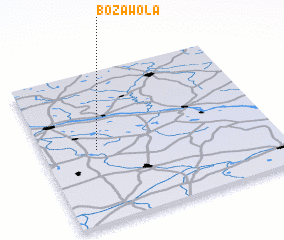 3d view of Boża Wola