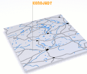 3d view of Konojady