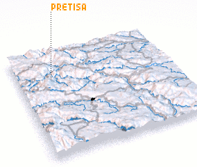 3d view of Pretiša