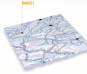 3d view of Rakići