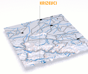 3d view of Križevci