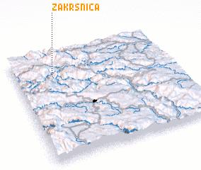 3d view of Zakrsnica
