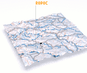 3d view of Ropoč