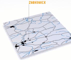 3d view of Ząbkowice