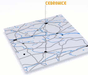 3d view of Cedrowice