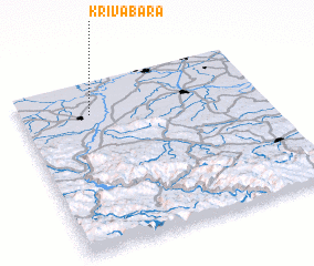 3d view of Kriva Bara
