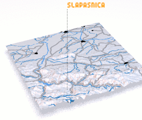 3d view of Slapašnica