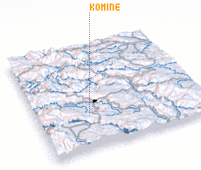 3d view of Komine