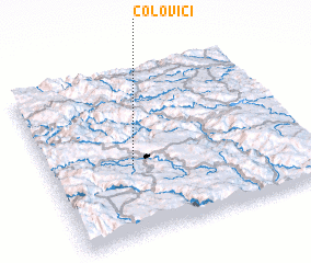 3d view of Čolovići