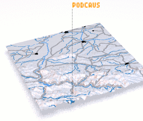 3d view of Podčauš