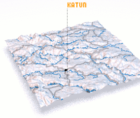 3d view of Katun