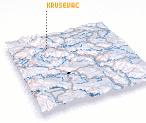 3d view of Kruševac