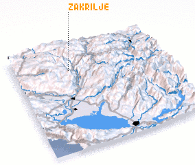 3d view of Zakrilje