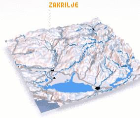 3d view of Zakrilje