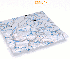 3d view of Crni Vrh