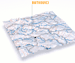 3d view of Batkovići