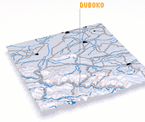 3d view of Duboko