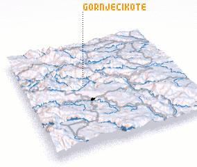 3d view of Gornje Cikote