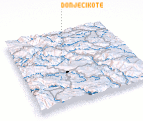 3d view of Donje Cikote