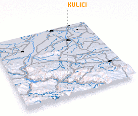 3d view of Kulići