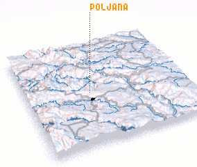 3d view of Poljana