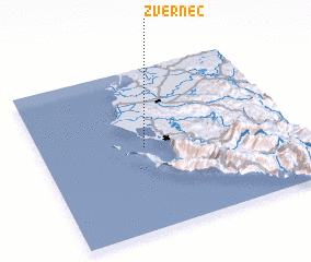 3d view of Zvërnec