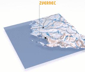 3d view of Zvërnec