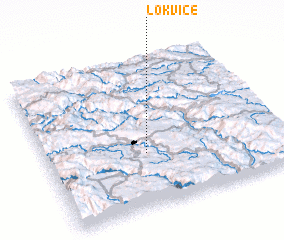 3d view of Lokvice