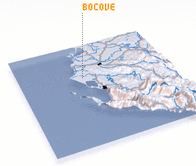 3d view of Boçovë