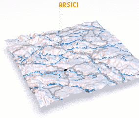3d view of Arsići