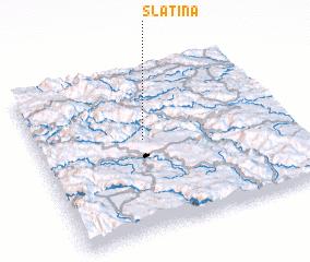 3d view of Slatina